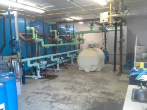 Inside Water Treatment Plant