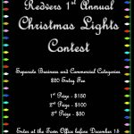 1st Annual Christmas Lights Contest