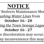 Water Line & Lagoon Maintenance