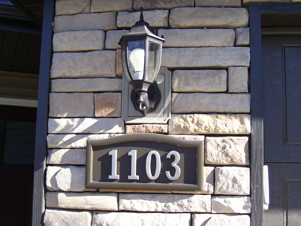 House numbers redvers saskatchewan for Number 16 house