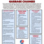 Garbage Changes