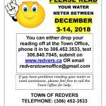 Water Meter Readings!